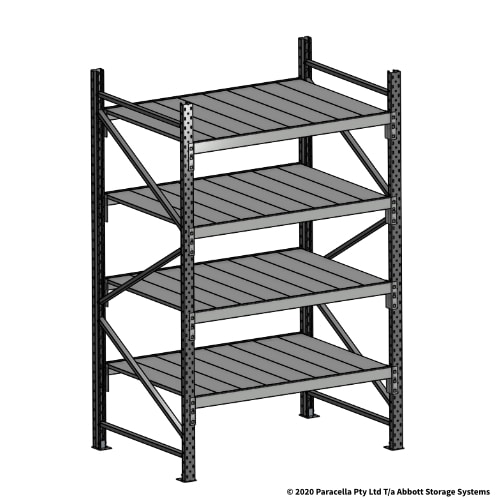 Open Span OS43970 2000H 1200W 900D Steel Shelf Panels Initial Bay