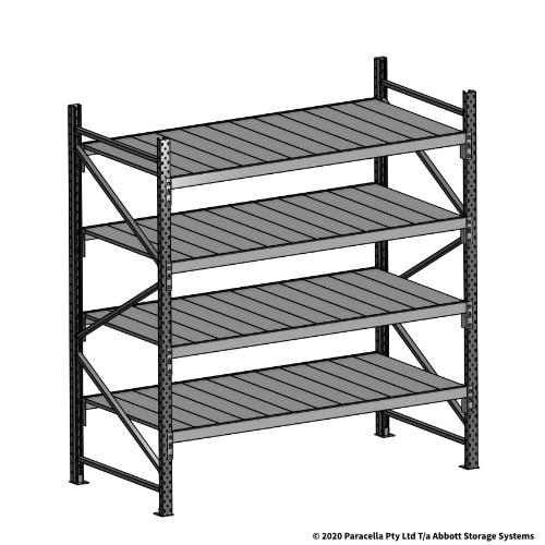 Open Span OS43990 2000H 1800W 900D Steel Shelf Panels Initial Bay