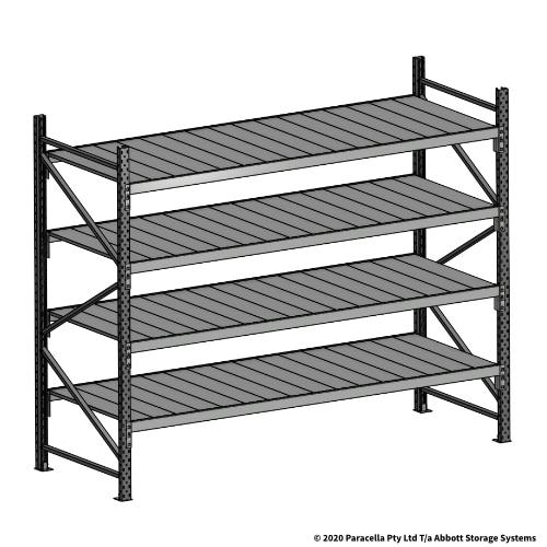 Open Span OS43992 2000H 2400W 900D Steel Shelf Panels Initial