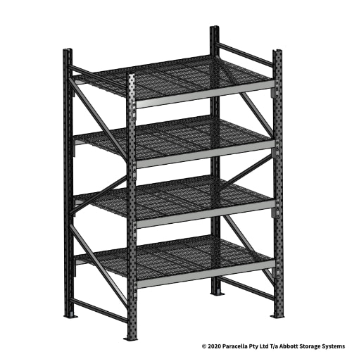 Open Span OS44970 2000H 1200W 900D Wire Shelf Panels Initial Bay