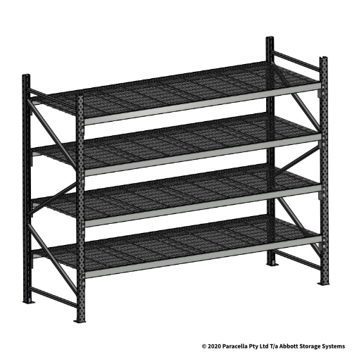 Open Span OS44992 2000H 2400W 900D Wire Shelf Panels Initial Bay