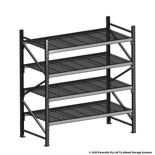 Open Span OS44990 2000H 1800W 900D Wire Shelf Panels Initial Bay