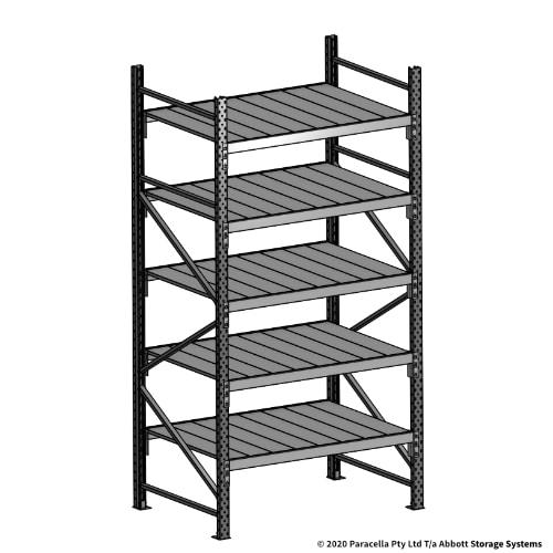 Open Span OS43030 2500H 1200W 900D Steel Shelf Panels Initial Bay