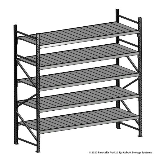 Open Span OS43069 2500H 2400W 900D Steel Shelf Panels Initial Bay