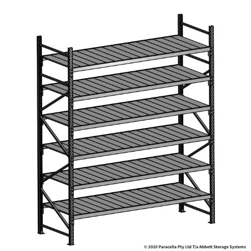 Open Span OS43951 3000H 2400W 900D Steel Shelf Panels Initial Bay