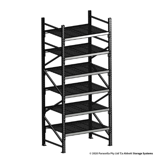 Open Span OS44090 3000H 1200W 900D Wire Shelf Panels Initial Bay
