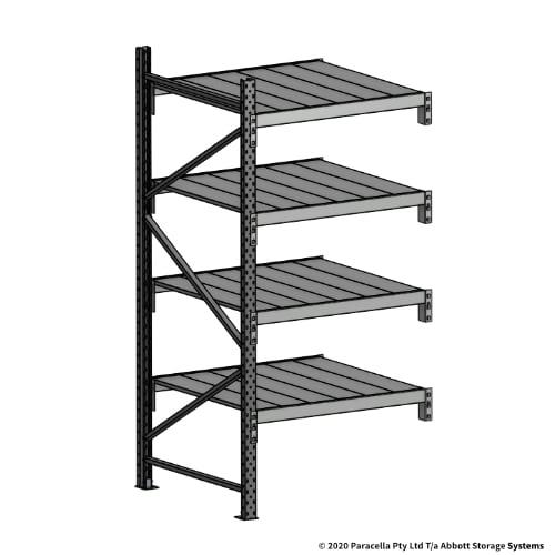 Open Span OS43979 2000H 900W 900D Steel Shelf Panels Add-On Bay