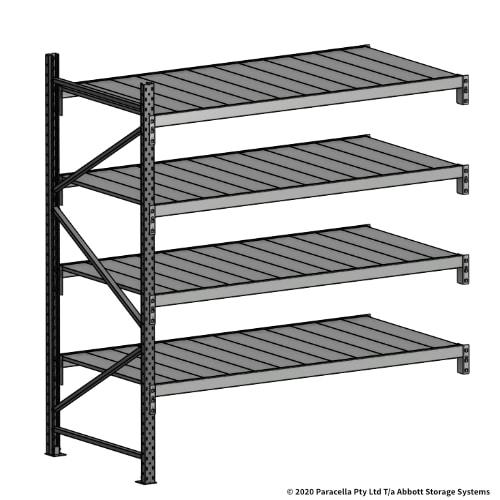 Open Span OS43998 2000H 1800W 900D Steel Shelf Panels Add-On Bay