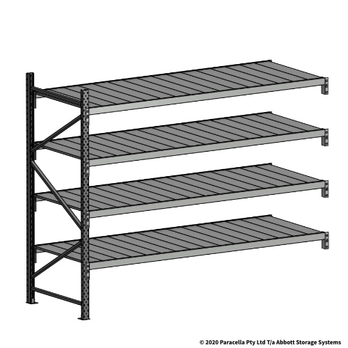 Open Span OS43999 2000H 2400W 900D Steel Shelf Panels Add-On Bay