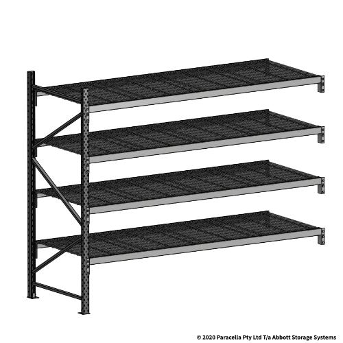 Open Span OS44999 2000H 2400W 900D Wire Shelf Panels Add-On Bay