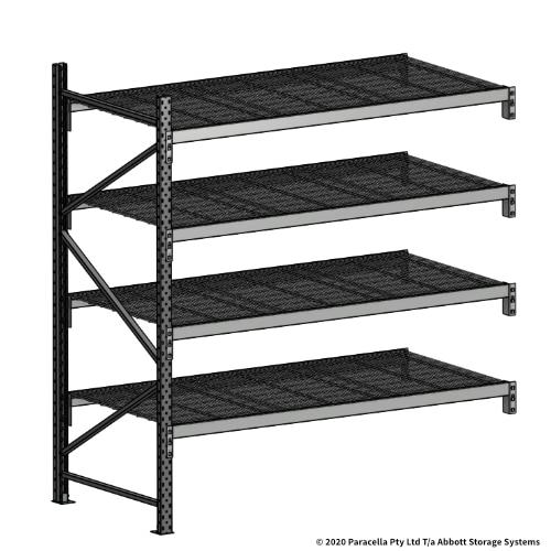 Open Span OS44998 2000H 1800W 900D Wire Shelf Panels Add-On Bay
