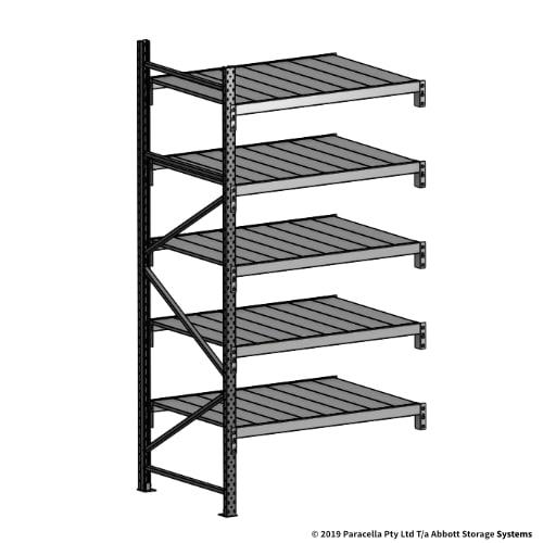 Open Span OS43040 2500H 1200W 900D Steel Shelf Panels Add-On Bay
