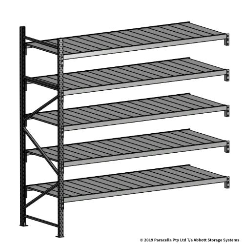 Open Span OS43079 2500H 2400W 900D Steel Shelf Panels Add-On Bay
