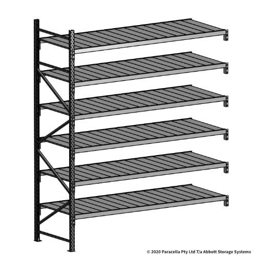 Open Span OS43961 3000H 2400W 900D Steel Shelf Panels Add-On Bay