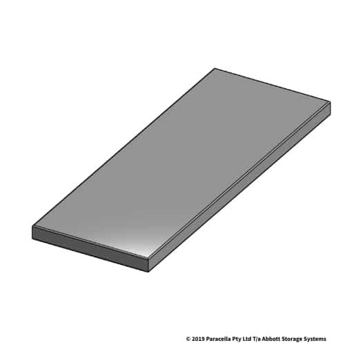 150W x 405D Steel Shelf Panel