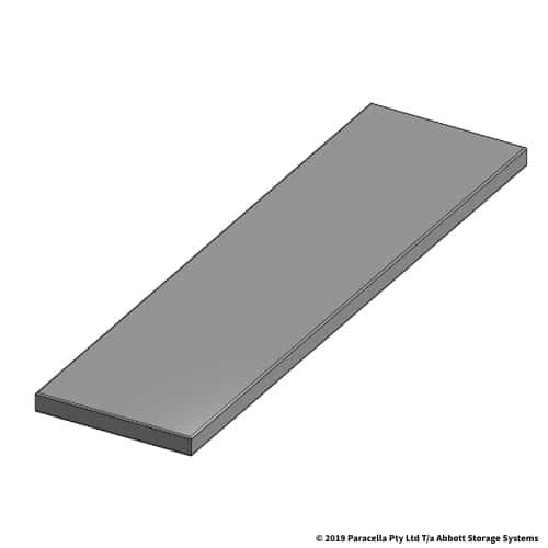 150W x 555D Steel Shelf Panel