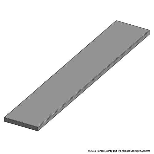 150W x 855D Steel Shelf Panel
