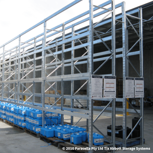 Selective Pallet Racking - Hot Dipped Galvanised