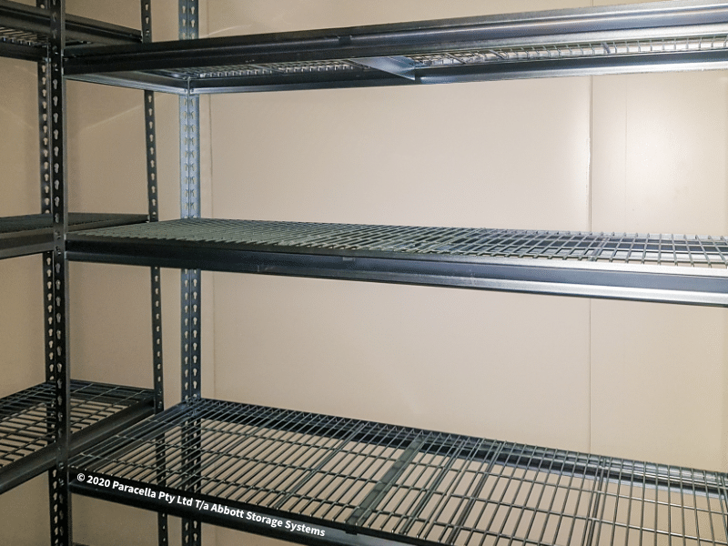 Moora College - Coolroom Shelving Units