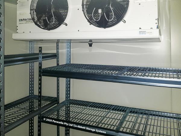 Moora College - Coolroom Shelving