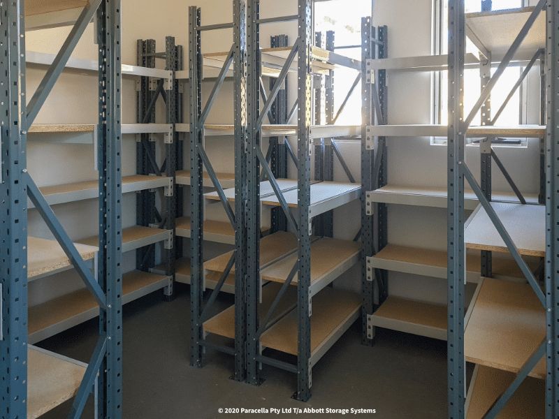 Open Span Shelving Particle Board Units