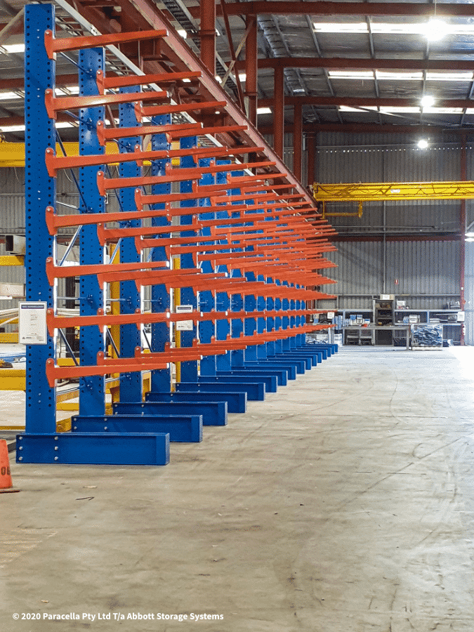 Backbone Steel Heavy Duty Cantilever Racking
