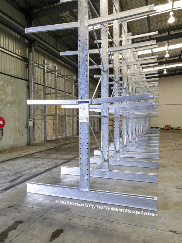 Light Duty Hot Dipped Galvanised Cantilever Racking