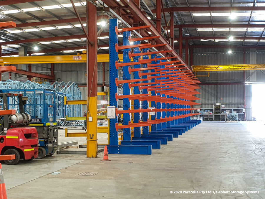 Powder Coated Heavy Duty Cantilever Racking