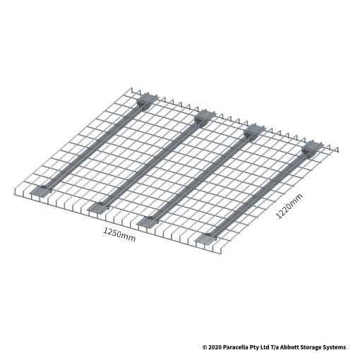 Selective Pallet Racking Mesh Deck 1250 x 1220