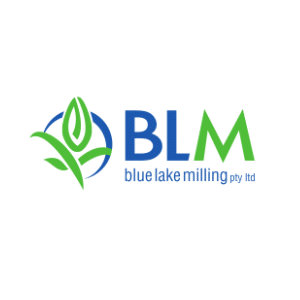Blue Lake Milling (BLM) Logo
