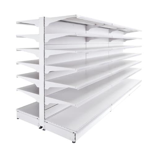 Gondola Shelving - Steel Shelves