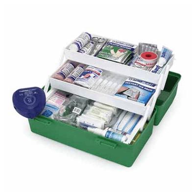 Plastic Box First Aid Kit