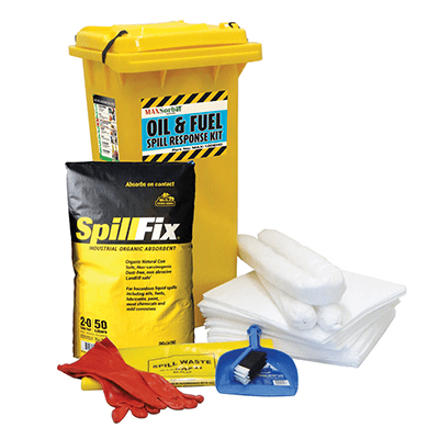 Economy 120L Oil and Fuel Spill Kit - WS03510