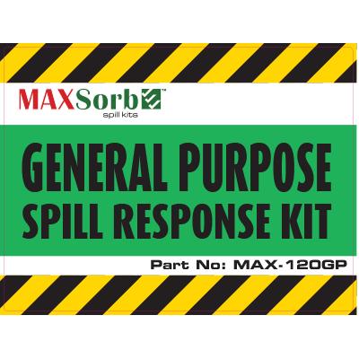 General Purpose Spill Kit Label 120L - WS03100L