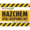 Hazchem Spill Kit Label 120L