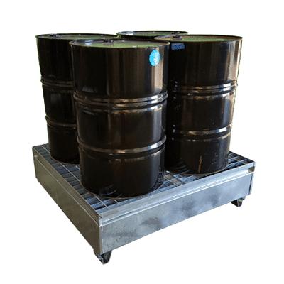 MH18003 - 4 Drum Bunded Metal Pallet