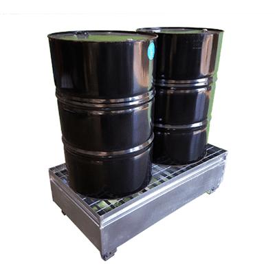 MH19003 - 2 Drum Bunded Metal Pallet