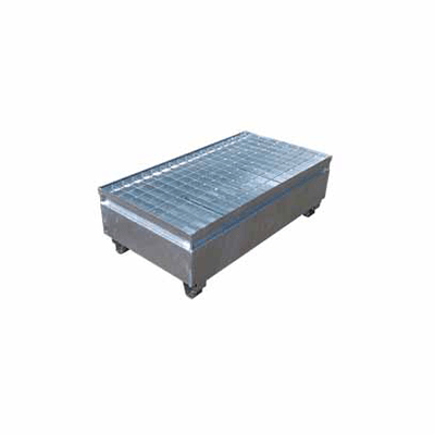 MH19003 - 2 Drum Bunded Metal Pallet
