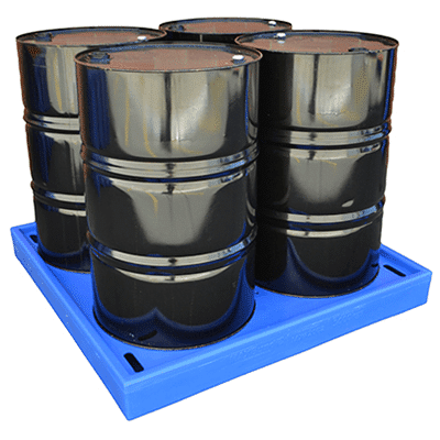Spill Containment | MH28013 - Low Profile Poly 4 Drum Bund