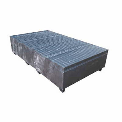 MH30001 - Double IBC Bunded Metal Pallet