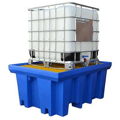 MH30010 - Single IBC Bunded Poly Pallet