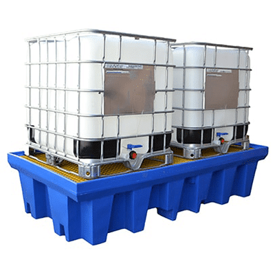 MH30011 - Double IBC Bunded Poly Pallet