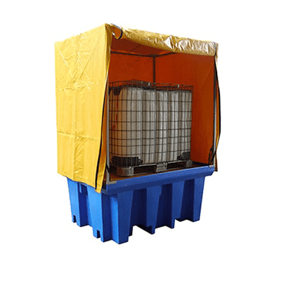 MH30017 - PVC Cover and Galvanised Frame for Single IBC