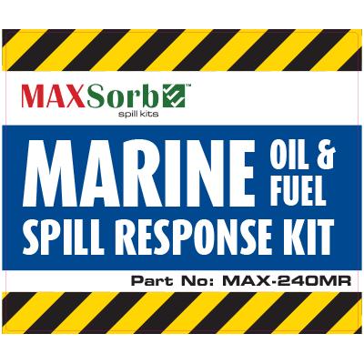 Marine Spill Kit Label 240L - WS04400L