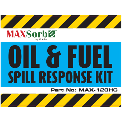 Oil and Fuel Spill Kit Label 120L - WS03200L