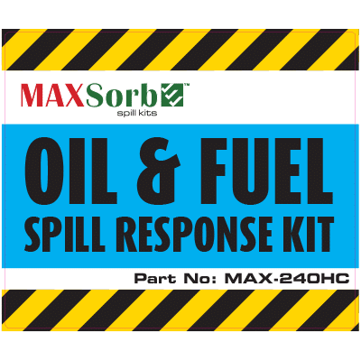 Oil and Fuel Spill Kit Label 240L - WS04200L