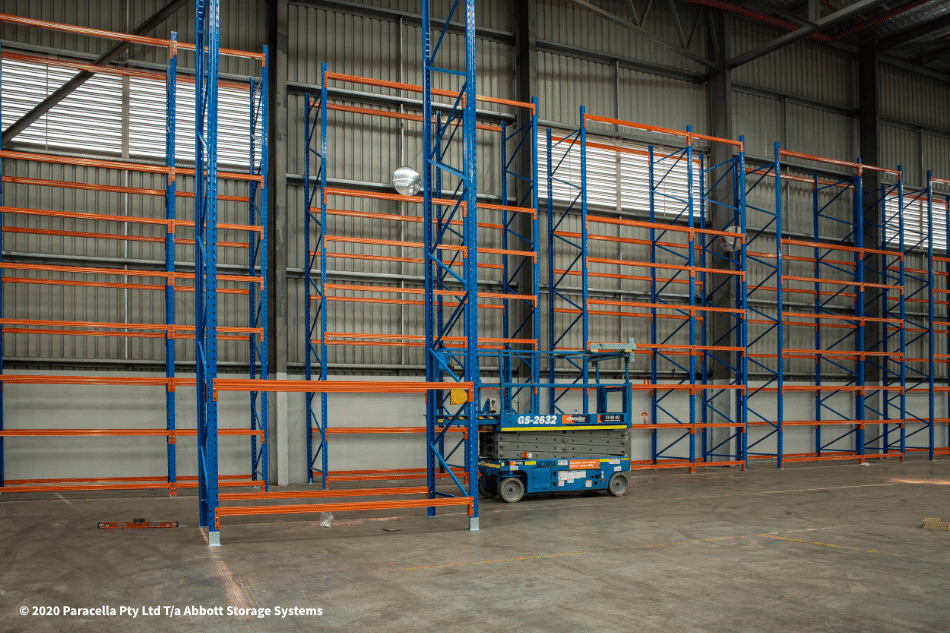 TNT Australia - Industrial Racking Solution Installation