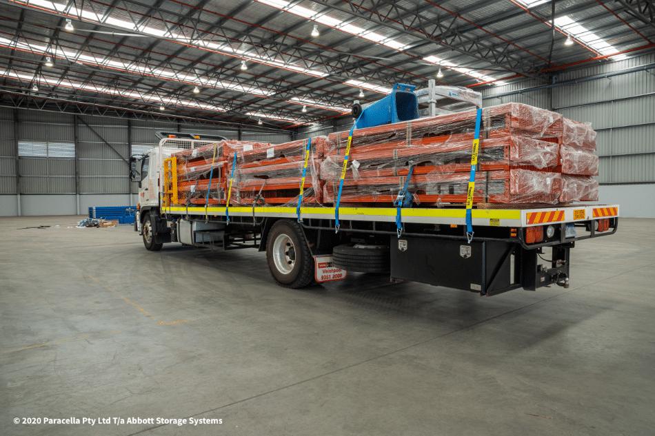 TNT Australia - Industrial Racking Solution