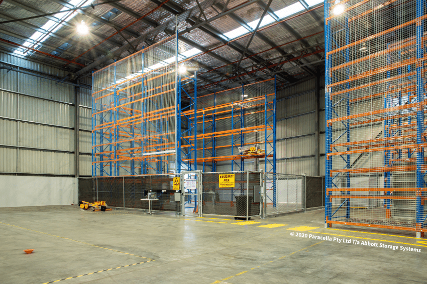 TNT Australia - Selective Pallet Racking In Biosecurity Area