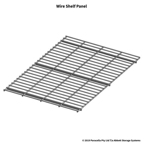 Wire Shelf Panel - Longspan